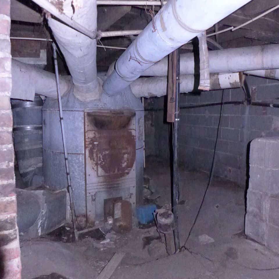 Asbestos-piping